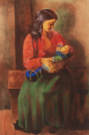Mojżesz KISLING (1891-1953), Macierzyństwo