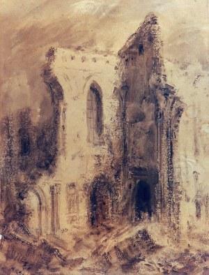 Eugeniusz ARCT (1899-1974), Ruiny Katedry św. Jana w Warszawie, 1945
