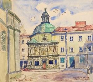 Irena NOWAKOWSKA-ACEDAŃSKA (1906-1983), Lwów - Kaplica Boimów, ok. 1970