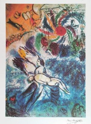 Marc CHAGALL (1887-1985) - według, Anioł