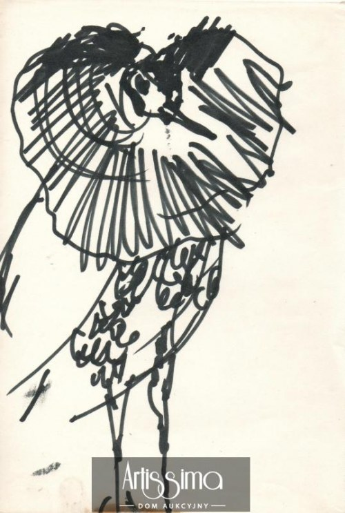 Barbara Jonscher (1926-1986), Ptak (nr 1)