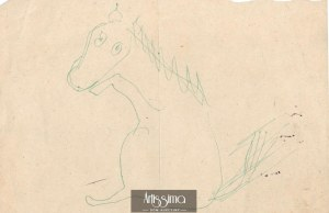 Barbara Jonscher (1926-1986), Siedzący koń