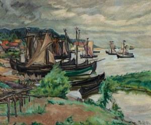 NAD ZALEWEM KUROŃSKIM, ok. 1930