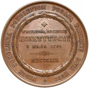 Medal, W stuletnią rocznicę Konstytucji 3 Maja 1891