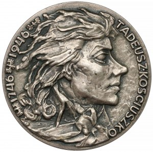 Medal SREBRO Tadeusz Kościuszko 1746-1946 (F. Kalfas)
