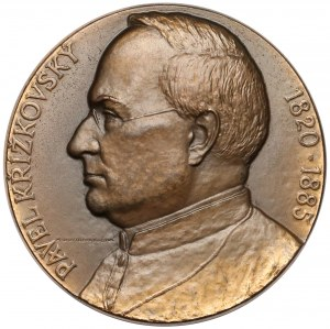 Czechosłowacja, Medal, Pavel Křížkovský - Opava (Uchytilová)
