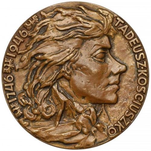 Medal BRĄZ Tadeusz Kościuszko 1746-1946 (F. Kalfas) - rzadkość