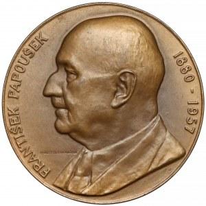Czechosłowacja, Medal, František Papoušek 1957 (Uchytilová)