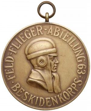 Medal 63 Oddz. Korpusu Beskidzkiego 1916 (Korpusu Śląskiego) PRZEMYŚL, LEMBERG, CHOLM...