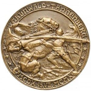 Medal, 500. rocznica Bitwy pod Grunwaldem 1910