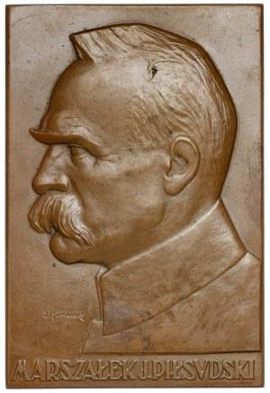 Plakieta MW (60x90mm) Marszałek J. Piłsudski