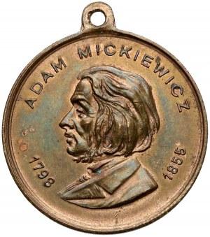 Medal, Odsłonicie Pomnika Mickiewicza Lwów 1904