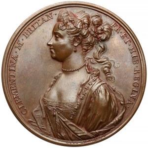 Medal Klementyna Sobieska ucieczka z Innsbrucku 1719