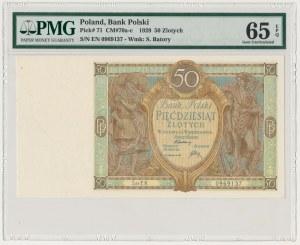 50 złotych 1929 - Ser.EN - PMG 65 EPQ