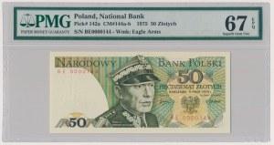50 złotych 1975 - BE 0000144 - PMG 67 EPQ