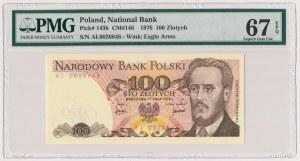 100 złotych 1976 - AL - PMG 67 EPQ