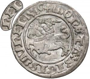 Zygmunt I Stary, Półgrosz Wilno 1510 - błąd SigismvNEI