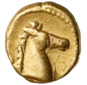 Grecja, Kartagina, Zeugitania, 1/10 statera (310-290pne)