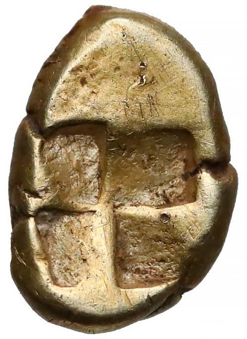 Grecja, Myzja, Kyzikos, Hemihekte elektronowe (500-450pne) - wojownik
