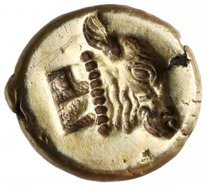 Grecja, Lesbos, Mitylena, Hekte elektronowe (500-494pne)
