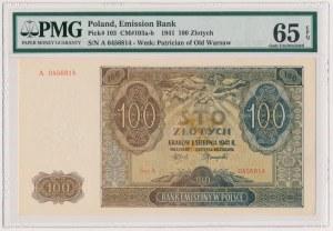 100 złotych 1941 - A - PMG 65 EPQ