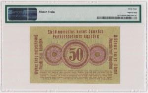 Poznań 50 kopiejek 1916 ''...nabywa'', mała czcionka - PMG 64