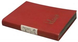 Polska, album znaczków 1860-1944, w tym Polska nr 1