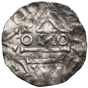 Czechy, Bolesław II (967-999) Denar