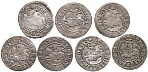 Zygmunt I Stary, Półgrosz Wilno 1509-1514 (7szt)