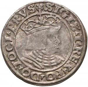 Zygmunt I Stary, Grosz Toruń 1530 - miecz w lewo - PRVS
