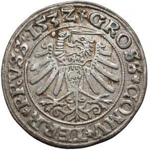 Zygmunt I Stary, Grosz Toruń 1532 - szerokie pop.
