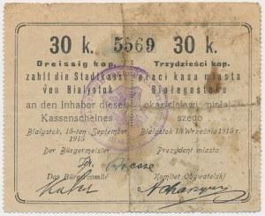 Białystok, 30 kopiejek 1915