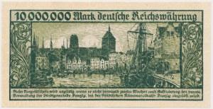 Gdańsk 10 mln marek 1923