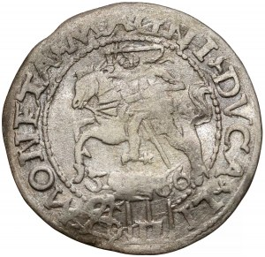 Zygmunt II August, Grosz na stopę polską 1566, Tykocin - Kolumny