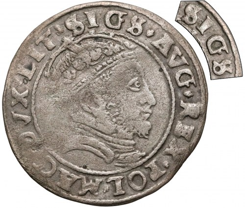 Zygmunt II August, Grosz na stopę litewską 1546 - błąd SIGS (RRR)
