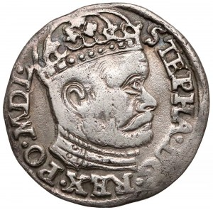 Stefan Batory, Trojak Olkusz 1584 G-H