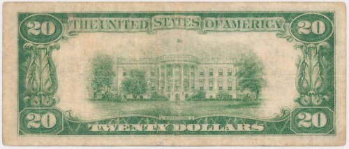 USA, 20 dollars 1928, Gold Certificate