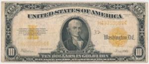 USA, 10 dollars 1922, Gold Certificate