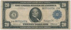 USA, 20 dollars 1914