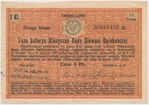 1-sza Loteria Rady Głównej Opiekuńczej, 2 Kl.