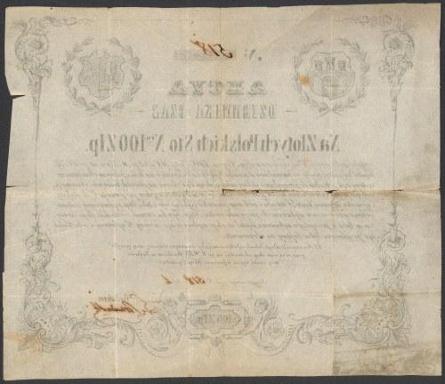 DZIENNIK CZAS, Kraków 100 złotych 1848