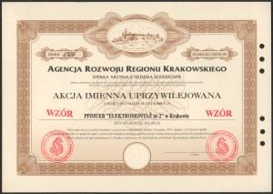 Akcja, Agencja Rozwoju Regionu Krakowskiego, WZÓR 5.000 zł 1993