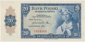 ABNCo 20 złotych 1939 - C