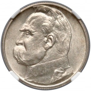 Piłsudski 2 złote 1934 - NGC MS62