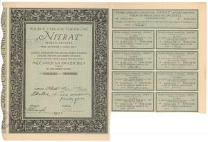 Polskie Zakłady Chemiczne NITRAT, Em.2, 5x 500 mkp 1921
