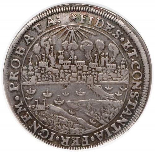 Zygmunt III Waza, Talar Toruń 1629 (brandtalar) - płonące miasto - b.rzadki