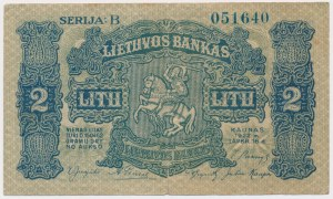 Litwa, 2 litu 1922