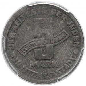 Getto Łódź, 5 marek 1943 Mg - odm.1/1 - rzadka
