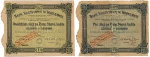 Bank Kredytowy w Warszawie, Em.11, 5x, 20x 1.000 mkp 1923 (2szt)