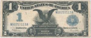 USA, 1 dollar 1899, Silver Certificate, Orzeł